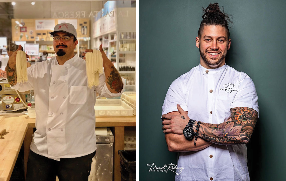 Eataly's Luca Donofrio Joins Chef Robbie at Osteria Crescendo For a Five-Course Pasta Tasting