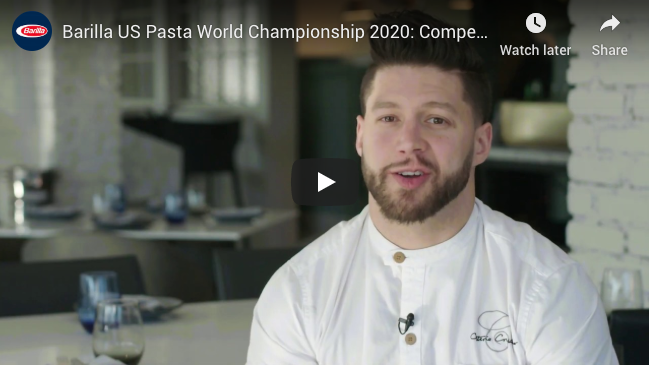 Local Chef Robbie Felice Competing to be USA Master of Pasta