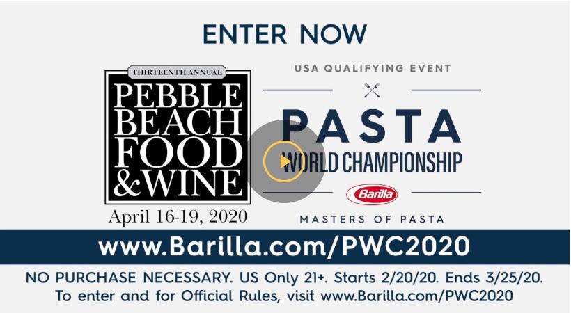 Pasta World Championship 2020 – USA Qualifying Event